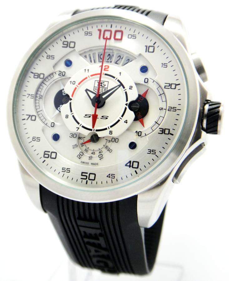 Tag heuer calibre mercedes benz sls 100 for Tag heuer grand carrera mercedes benz sls limited edition price