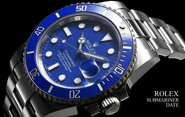 Rolex Submariner Blue Edition